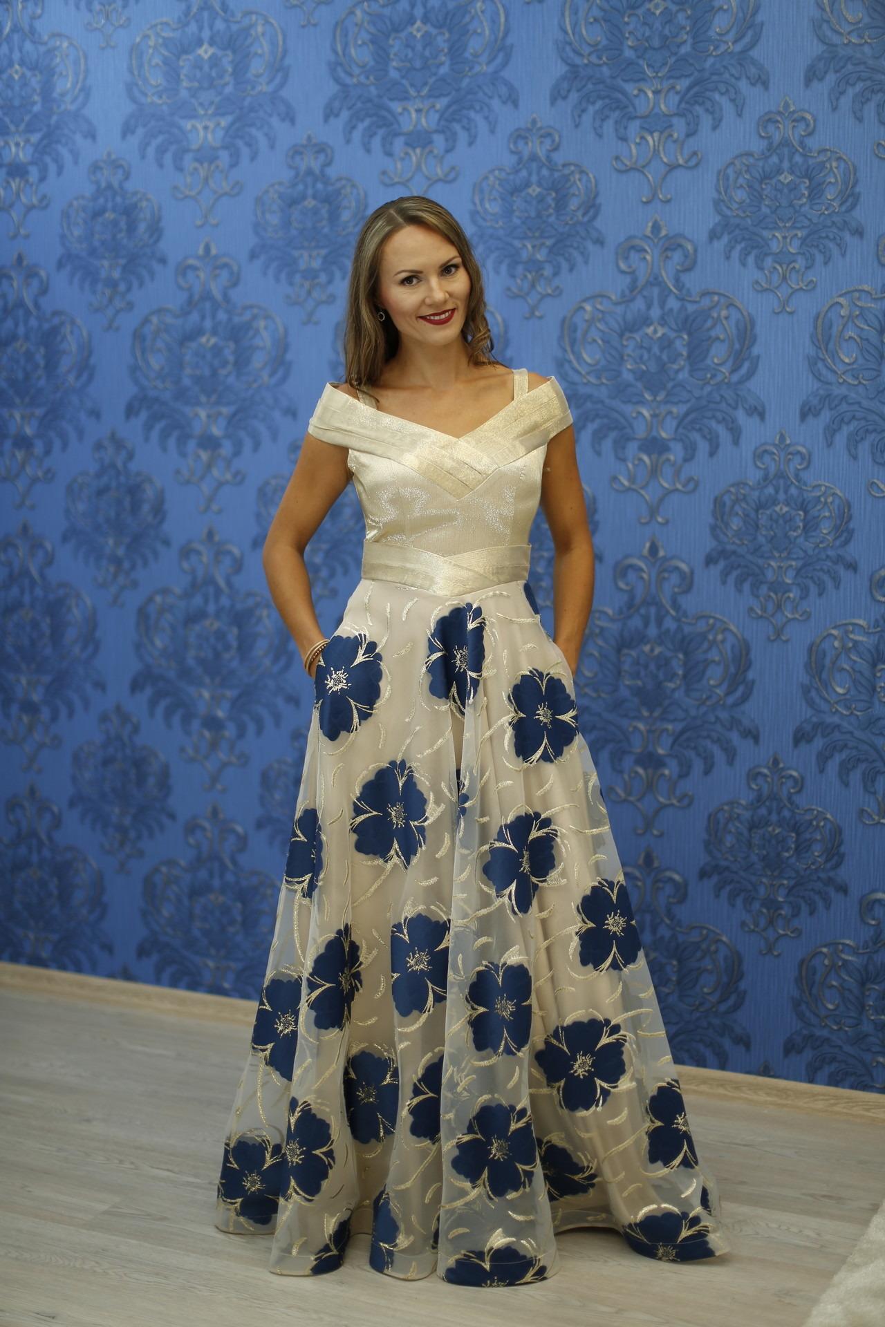 d24306ef5ed6 Exkluzívny svadobný salón - spoločenské šaty V0031