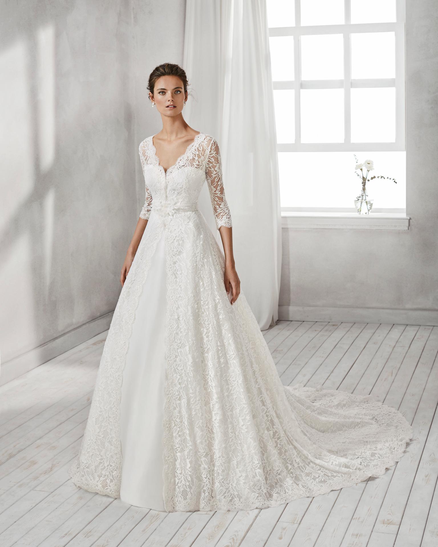 1d5495083a44 Exkluzívny svadobný salón - svadobné šaty Hesel