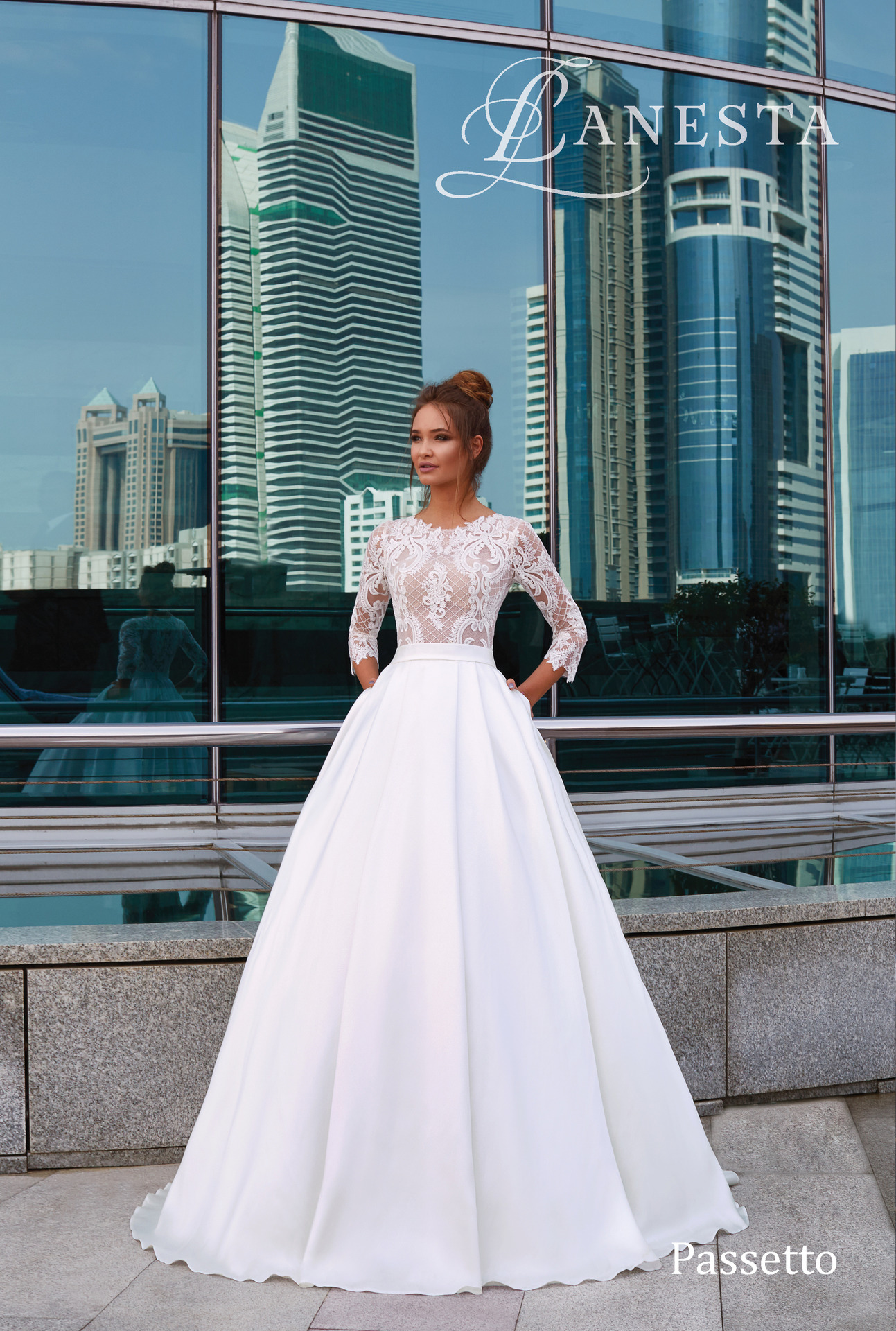 2611626591b4 Exkluzívny svadobný salón - Svadobné šaty Passetto