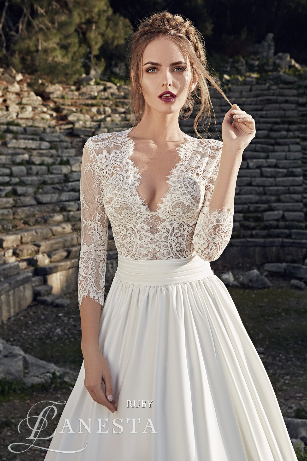 210def11aeda Exkluzívny svadobný salón - Svadobné šaty Ruby