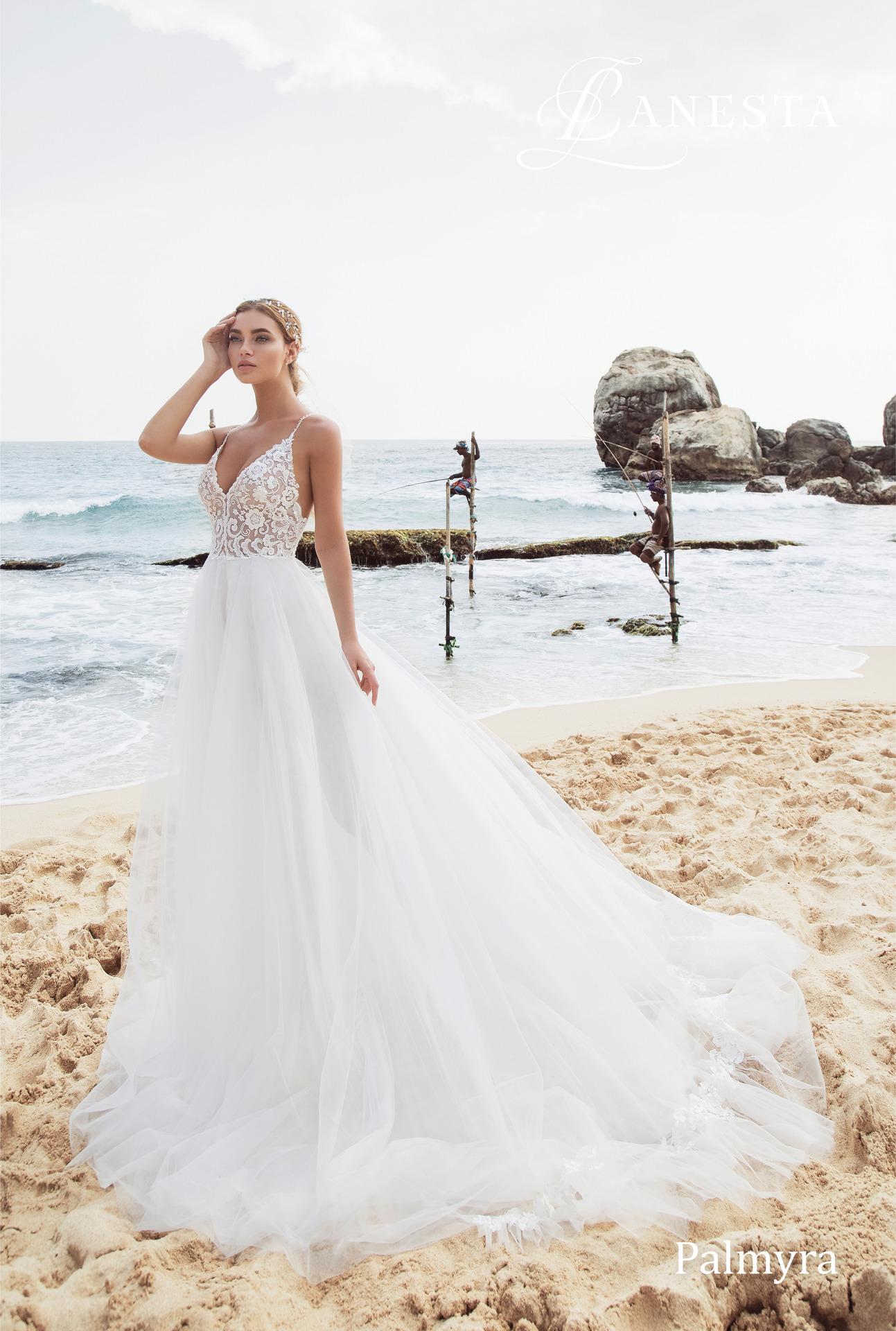 Exkluzívny svadobný salón - svadboné šaty Palmyra 6be8a6829bb
