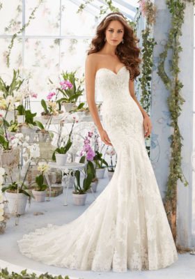 Exkluzívny svadobný salón - svadobné šaty Madeline e22caf843bf