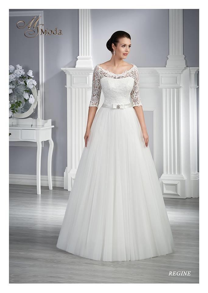 Exkluzívny svadobný salón - svadobné šaty Regine e2fd20d1f15